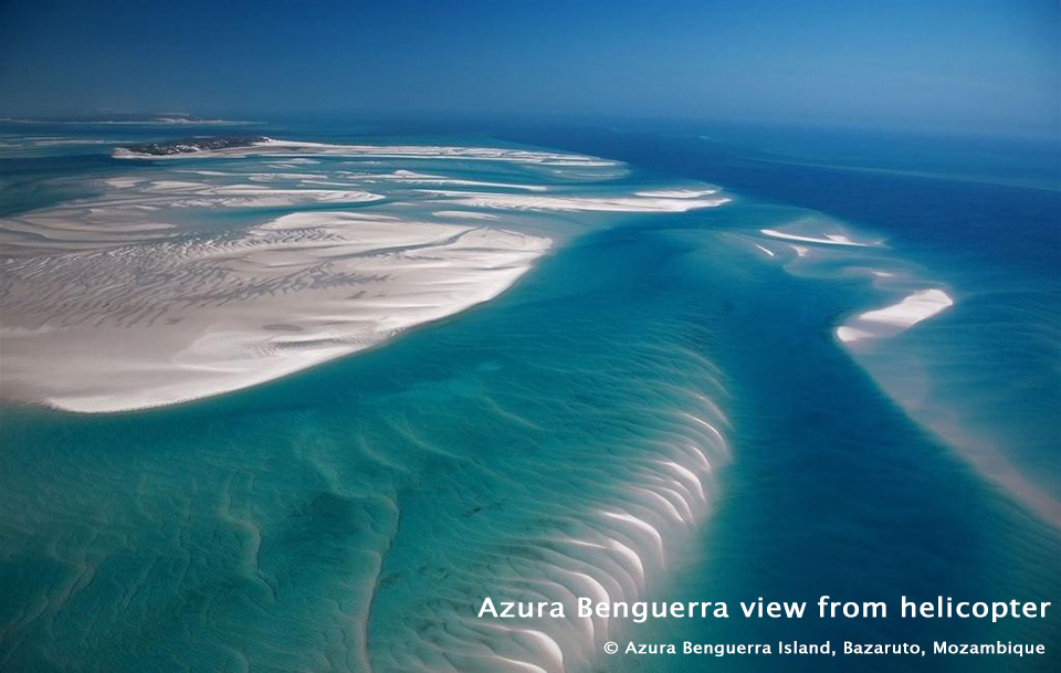 Azura Benguerra view from helicopter