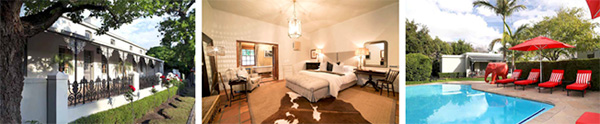 Avondrood Guest House in Winelands, South Africa