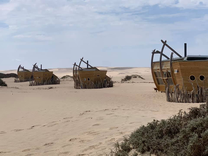Shipwreck Lodge ~ Skeleton coast, Namibia