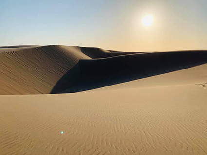 sand dunes, Skeleton Coast